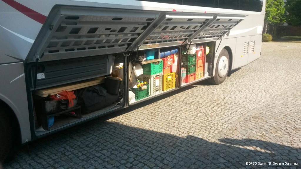 Bus Packen